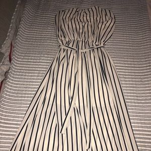 Vibe White and blue maxi dress size 1X